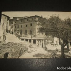 Postales: MONZON HUESCA POSTAL FOTOGRAFICA ASPECTO URBANO AÑOS 20 FOTO MODERNA CASTELLVI. Lote 122573087