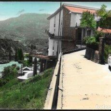 Postales: POSTAL COLOREADA * ARAGÜES DEL PUERTO ( HUESCA ) , VISTA PARCIAL *. Lote 131946587