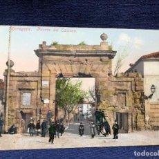 Postales: POSTAL 2323 ZARAGOZA PUERTA DEL CARMEN NO ESCRITA NI CIRCULADA ED CECILIO GASCA. Lote 123102827