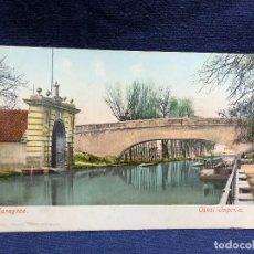 Postales: POSTAL 2317 ZARAGOZA CANAL IMPERIAL NO ESCRITA NI CIRCULADA ED CECILIO GASCA. Lote 123104635