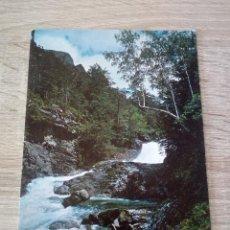 Postales: POSTAL - PARQUE NACIONAL DE ORDESA - HUESCA - CASCADA TOMBORRETERA RIO ARAZAS Nº 41 - ED. SICILIA. Lote 123308415