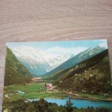 Postales: POSTAL - BIELSA - VALLE DE PINETA Y MACIZO DEL MONTE PERDIDO - Nº 16 - ED. SICILIA. Lote 123331035