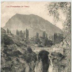 Postkarten - POSTAL PANTICOSA PUENTE D ESCARRILLA RIO GALLEGO ED. LABOUCHE N° 1607 HUESCA - 124286295