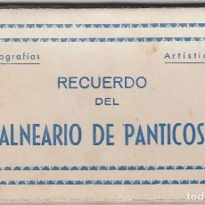 Postales: BLOCK DE 10 POSTALES DE BALNEARIO DE PANTICOSA. Lote 124598735