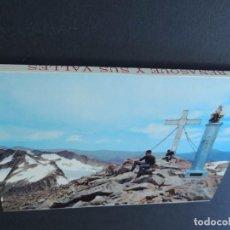 Cartes Postales: CRUZ ANETO SIN PINTAR / BENASQUE Y SUS VALLES / BLOCK DE 10 POSTALES / ED. SICILIA / HUESCA. Lote 136534450