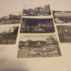 Postales: LOTE DE 7 ANTIGUAS POSTALES DE ZARAGOZA. Lote 126398964