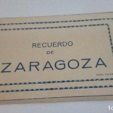 Postales: POSTALES TIRA DE 9 UDS. RECUERDO DE ZARAGOZA EDICIONES ARRIBAS. Lote 127434859