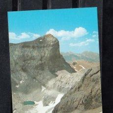 Cartes Postales: Nº 86 PARQUE NACIONAL DE ORDESA. PICO CILINDRO Y LAGO HELADO DE MONTE PÉRDIDO. Lote 127512327