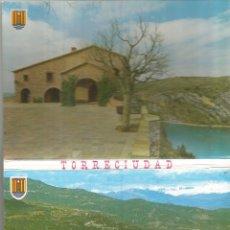 Postales: TORRECIUDAD, SANTUARIO - DESPLEGABLE DE 10 FOTOS A COLOR - EDICIONES SICILIA. Lote 127668003