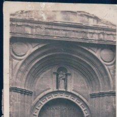 Postales: POSTAL ZARAGOZA - IGLESIA DE SAN PABLO - PORTADA DEL SUR - 46232 COLECCIONES LOTY - CIRCULADA. Lote 127777455