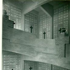Postais: ZARAGOZA. IGLESIA CAPUCHINOS TORRE MAUSOLEO CAÍDOS ITALIANOS GUERRA CIVIL 1936-39.. Lote 127947219