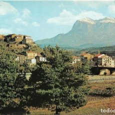 Postales: AINSA Nº 4 VISTA PARCIAL AL FONDO PEÑA MONTAÑESA .- FOTO PEÑARROYA S/C. Lote 128523891