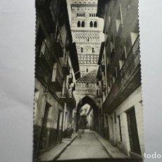Postales: POSTAL TERUEL -TORRE DEL SALVADOR -CIRCULADA CM. Lote 128527987