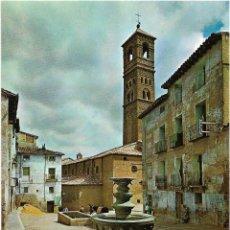 Postales: TARAZONA Nº 9 PLAZA Y TORRE DE LA MAGDALENA .- EDICIONES SICILIA . Lote 128536775