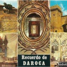Postales: DAROCA Nº 17 DIVERSOS ASPECTOS .- COMERCIAL ESCUDO DE ORO . Lote 128536987
