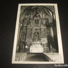 Postales: ALQUEZAR HUESCA IGLESIA ROMANICA ALTAR MAYOR. Lote 128581111