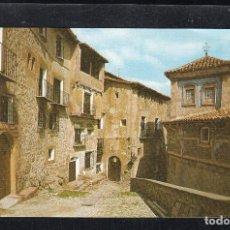 Postales: Nº 45.- ALBARRACIN. MONUMENTO NACIONAL. CALLE DEL CHORRO.. Lote 128609559