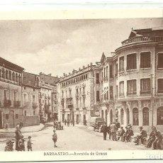 Postales: (PS-57510)POSTAL DE BARBASTRO-AVENIDA DE GRAUS. Lote 129086015