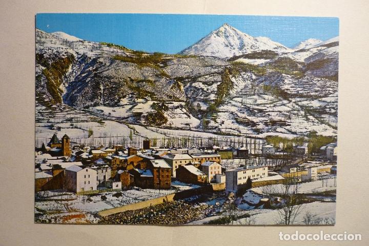 POSTAL BENASQUE - PANORAMICA (Postales - España - Aragón Moderna (desde 1.940))