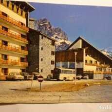 Postales: POSTAL SALLENT DE GALLEGO - ESTACION FORMIGAL. Lote 130741379