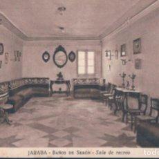 Postales: POSTAL JARABA - BAÑOS DE SERON - SALA DE RECREO - FOTO MARIN CHIVITE. Lote 131106172