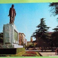 Postales: ZARAGOZA. 2694 MONUMENTO A FERNANDO EL CATÓLICO. COLECCIÓN PERLA. USADA CON SELLO. COLOR. Lote 131771927