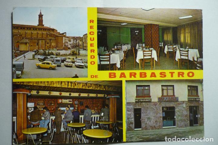POSTAL BARBASTRO - RESTAURANTE MATILDE (Postales - España - Aragón Moderna (desde 1.940))