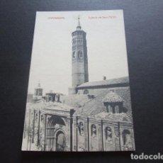 Postales: ZARAGOZA IGLESIA DE SAN PABLO. Lote 132483982