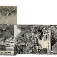 Postales: PANTICOSA, HUESCA.- BALNEARIO DE PANTICOSA, RECUERDO DE PANTICOSA DESPLEGLABLE 12 VISTAS. Lote 132655022