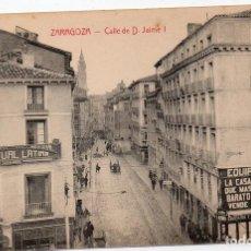 Postales: PS7996 ZARAGOZA 'CALLE DE D. JAIME I'. M. ARRIVAS. SIN CIRCULAR. PRINC. S. XX. Lote 133143630
