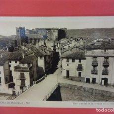 Postales: MORA DE RUBIELOS. VISTA PARCIAL DE LA ENTRADA DE LA VILLA. Lote 133318046