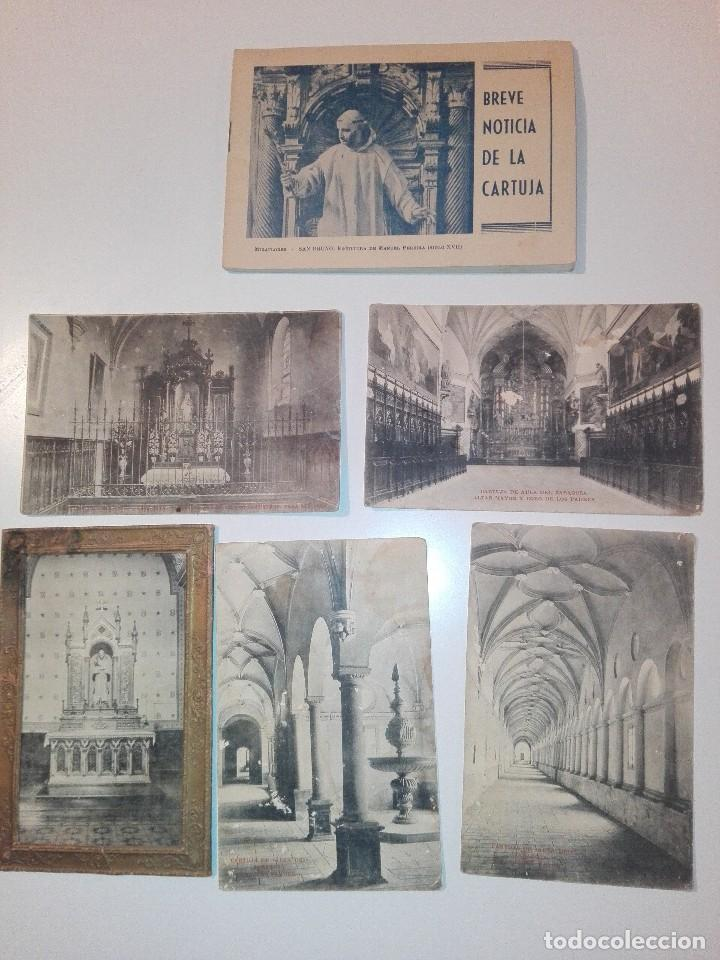 LOTE DE TARJETAS POSTALES DE CARTUJA DE AULA DEI, ZARAGOZA (Postales - España - Aragón Antigua (hasta 1939))