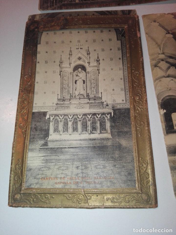 Postales: Lote de tarjetas postales de cartuja de aula dei, Zaragoza - Foto 4 - 133488926