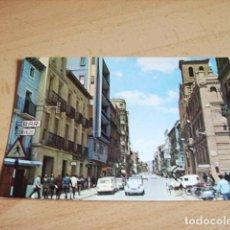 Postales: HUESCA -- COSO ALTO. Lote 133546486