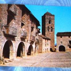 Postales: PLAZA MAYOR DE AINSA (HUESCA).. Lote 133599338