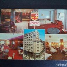 Postales: POSTAL DE HOTEL REY ALFONSO . ZARAGOZA.. Lote 133714258