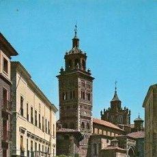 Postales: TERUEL - 1 PLAZA DEL AYUNTAMIENTO Y CATEDRAL. Lote 133767926
