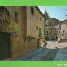Postales: POSTAL - CALLE DE LA CATEDRAL DE ALBARRACÍN - TERUEL -. Lote 134006566