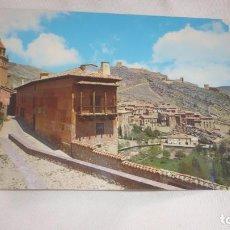 Postales: ALBARRACIN POSTAL AÑOS 70...(TERUEL). Lote 134082978