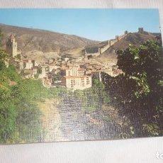 Postales: ALBARRACIN POSTAL AÑOS 70...(TERUEL). Lote 134083370
