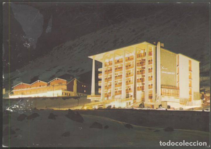39- CANDANCHU- ESTACION INVERNAL- CONJUNTO DE HOTELES (NOCTURNA) (Postales - España - Aragón Moderna (desde 1.940))