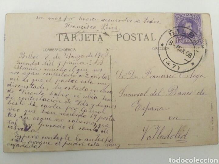 Postales: Postal tuna o rondalla zaragozana, Zaragoza 1908. - Foto 3 - 134220250