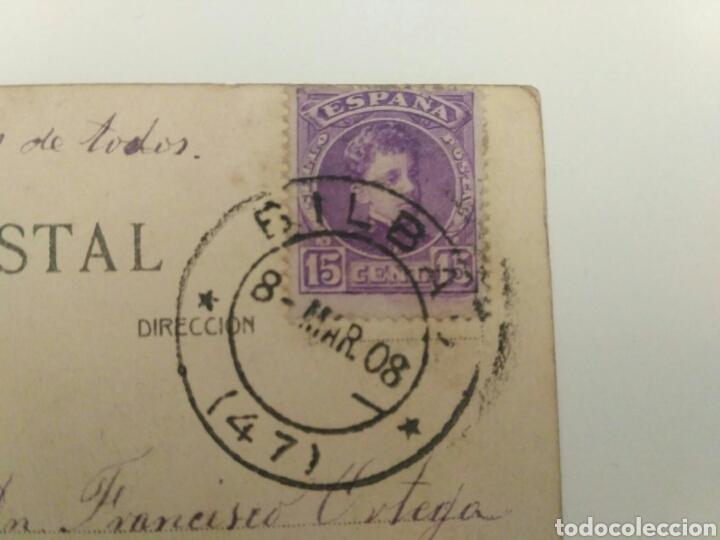 Postales: Postal tuna o rondalla zaragozana, Zaragoza 1908. - Foto 4 - 134220250