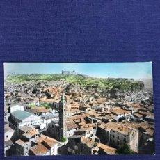 Postales: POSTAL 14 CALATAYUD VISTA PARCIAL AL FONDO EL CASTILLO COLOREADA ED SICILIA INSCRITA. Lote 135161142