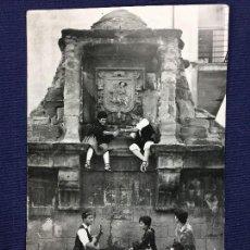 Postales: POSTAL 69 CALATAYUD FUENTE OCHO CAÑOS RONDALLA NUESTRA SEÑORA DE LA PEÑA ED PARIS INSCRITA. Lote 135161646