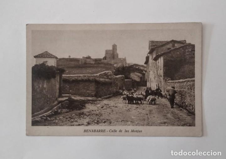 Postales: Benabarre Ribagorza Huesca Aragón Lote de 4 postales antiguas de Benabarre - Foto 3 - 135221414