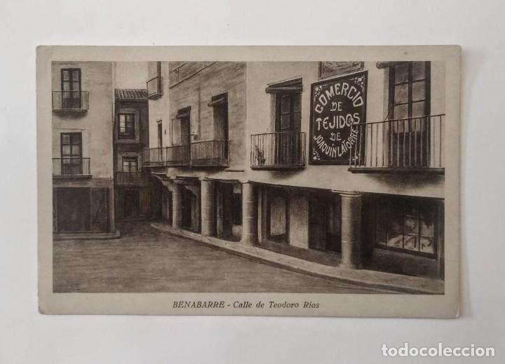 Postales: Benabarre Ribagorza Huesca Aragón Lote de 4 postales antiguas de Benabarre - Foto 5 - 135221414