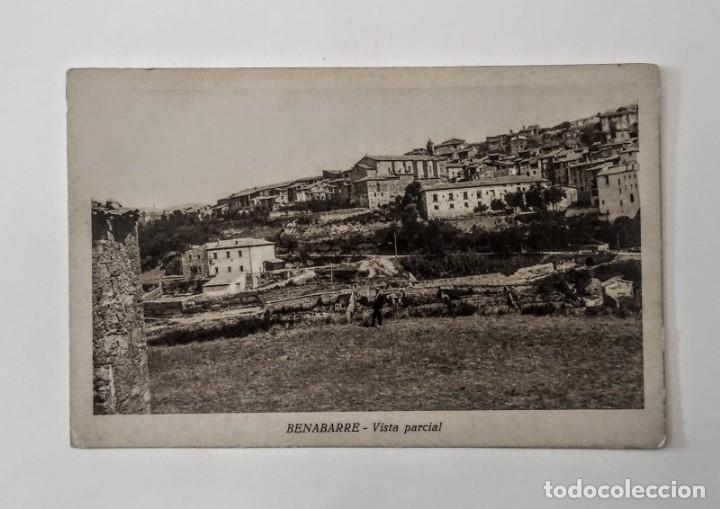 Postales: Benabarre Ribagorza Huesca Aragón Lote de 4 postales antiguas de Benabarre - Foto 7 - 135221414