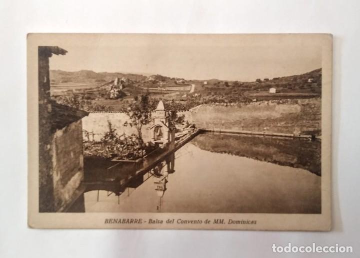 Postales: Benabarre Ribagorza Huesca Aragón Lote de 4 postales antiguas de Benabarre - Foto 9 - 135221414