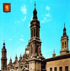Postales: ZARAGOZA -BASÍLICA DE NTRA. SRA. DEL PILAR- (ESCUDO DE ORO Nº 14) SIN CIRCULAR / P-4968. Lote 135701015
